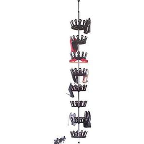 Ordex® Schuhkarussell für bis zu 48 Paar Schuhe - Flexibel + Platzsparend