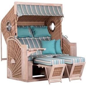 DEVRIES Strandkorb »deVries PURE® Seaside XL«, BxTxH: 135x92x165 cm