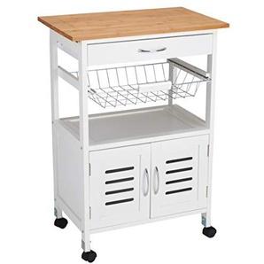 Küchenwagen in Weiss Preisvergleich   Moebel 24