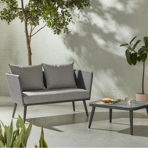 Sonora Lounge-Set, Grautoene