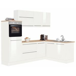OPTIFIT Winkelküche ohne E-Geräte »Bern«, Stellbreite 255 x 175 cm mit höhenverstellbaren Füßen