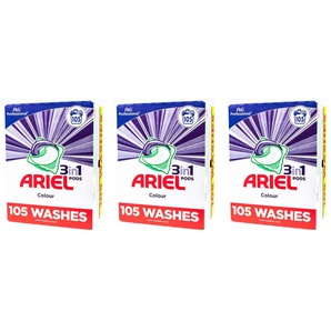 Ariel 3-in-1 Waschmittel-Pods: Color/9 (315 Pods)