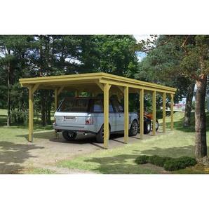 SKANHOLZ Carport Holstein  373 x 860 cm imprägniert