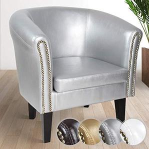 sessel in silber preisvergleich moebel 24. Black Bedroom Furniture Sets. Home Design Ideas