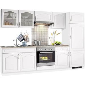 Küchenzeile »Linz«, ohne E-Geräte, Breite 270 cm