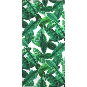 Handtuch »Small Palm Leaves«, Juniqe, Weiche Frottee-Veloursqualität