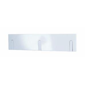 HAKU Möbel 42338 Garderobenleiste 44 x 2 x 10 cm, weiß