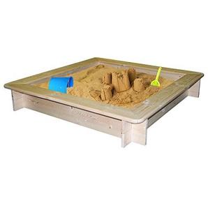 Woodyland 120x 120x 20cm Sandkasten mit Schutzhülle