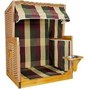 Posten Börse Hunde Strandkorb S dreifarbig gestreift 65 x 50 x 80 cm
