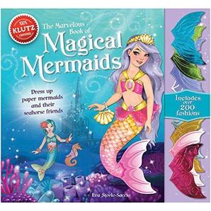Klutz Papier Magische Meerjungfrauen Buch Kit