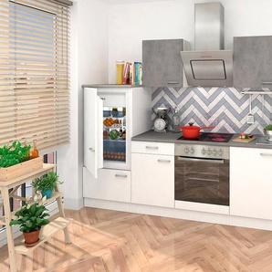 RESPEKTA Küchenzeile mit E-Geräten , Breite 270 cm