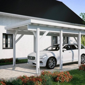 Kiehn-Holz Einzelcarport »KH 320 / KH 321«, BxT: 344x754 cm, Stahl-Dach, verschiedene Farben