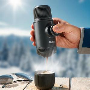 WACACO Nanopresso, tragbare Espressomaschine, Kaffeemaschine, grau