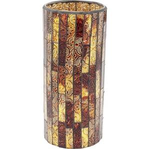 Vase Mosaico braun 25