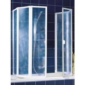 Schulte Badewannenaufsatz Weiß Softline hell 2 x 104 x 140 cm