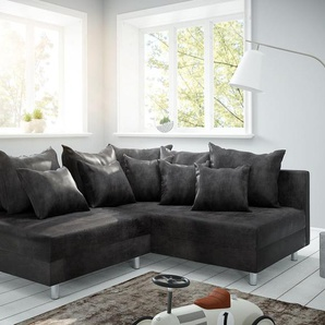 Ecksofa Clovis Anthrazit Antik Optik Ottomane Rechts Modulsofa, Design Ecksofas, Couch Loft, Modulsofa, modular