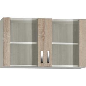 Optifit Glasoberschrank Kult Padua 100 cm