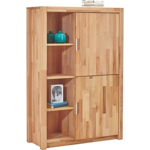 Carryhome: Highboard, Holz,Kernbuche, Buche, B/H/T 98 145,2 40