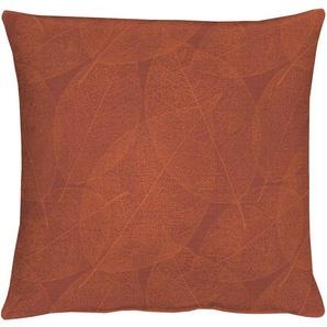 Apelt Kissenhülle »3301 INDIAN SUMMER«, 40x40 cm, orange