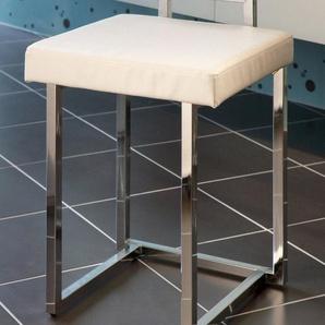 GGG MÖBEL Badhocker »Regina« mit gepolsterter Sitzfläche