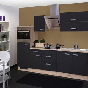 Küchenzeile mit E-Geräten »Antigua«, Gesamtbreite 270 cm
