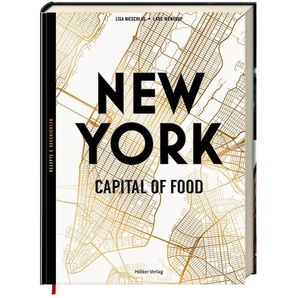 Buch New York Capital of Food, L:26,5cm x B:20cm, bunt