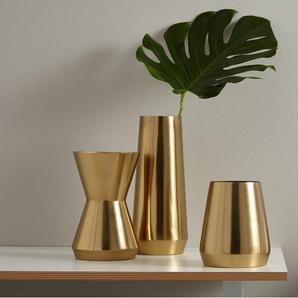 Beaumont Vase (18 cm), Messing