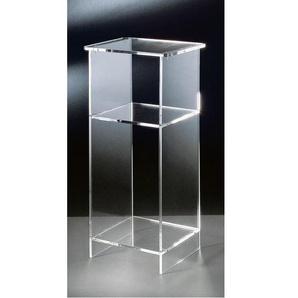 Telefontisch Acrylglas klar ca. 33 x 73 x 31 cm