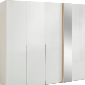 Drehtürenschrank mit Dekorfront und Spiegel »fontana«, Breite 225 cm, FSC®-zertifiziert, set one by Musterring