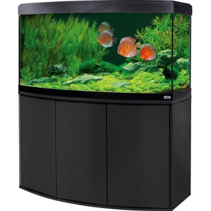 Fluval Aquarium-Kombination Vicenza LED 260 l Schwarz