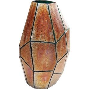 Vase Stone Gold Groß