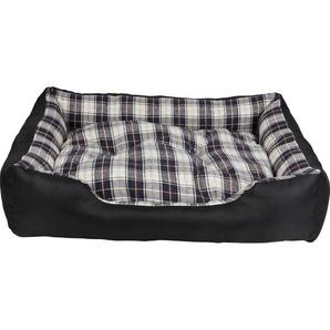 Heim Hunde-und Katzenbett mit herausnehmbarem Kissen 61 cm x 48 cm x 18 cm