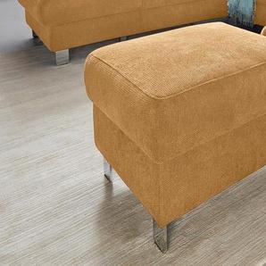 Sit&more Hocker, gelb, B/H: 58x45cm, hoher Sitzkomfort, FSC®-zertifiziert