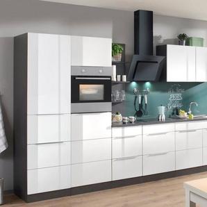 HELD MÖBEL Küchenzeile mit E-Geräten »Brindisi«, Breite 330 cm