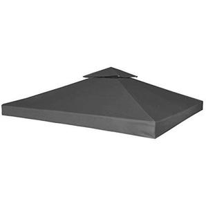 WEILANDEAL Ersatzrolle für Gazebo tonelle Dunkelgrau 270g/m2taille Gesamt: 3x 3m Ersatz