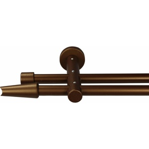 Gardinenstange nach Maß Ø 20 mm, Garesa, »Fit«, ohne Ringe, mit geschlossenem Träger