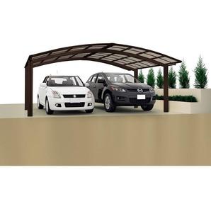Ximax Design-Doppelcarport Portoforte 80 M-Ausführung, Farbe der Profile:Schwarz