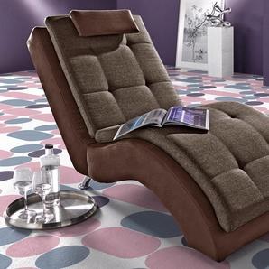 INOSIGN Relaxliege, braun, 70cm, FSC-Zertifikat, ,