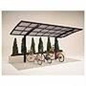 Ximax Design-Carport Portoforte 60 Mini, Farbe der Profile:Bronze