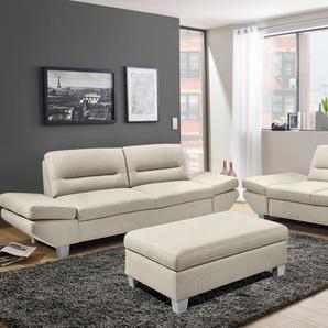 Inosign Places of Style 2 »Lousville«, B/H/T: 230x43x50cm, hoher Sitzkomfort, FSC®-zertifiziert