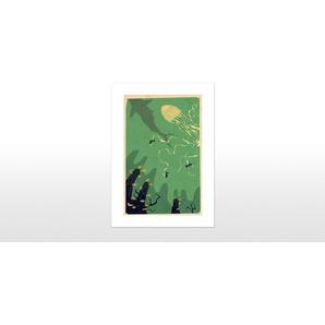 Meanwhile, Deep Below von Yetiland, 42 x 59cm (A2) Gerahmte Kunstdrucke