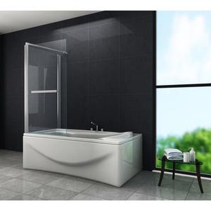 Eck-Duschtrennwand UNIONO 80 (Badewanne) - GLASDEALS