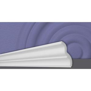Decosa Zierprofil ST60, weiss, 65 x 60 mm Laenge 2 m - 10 Stueck - DECOSA®