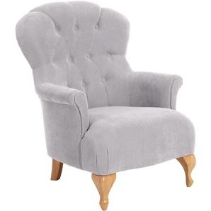 Max Winzer® Sessel »Clara«, silber, hoher Sitzkomfort