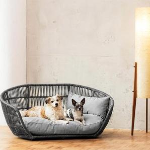 Laboni Prado Design Lounge-Bett, Hundebett, Hundekörbchen, outdoorgeeignet, Oeko-Tex® Standard 100