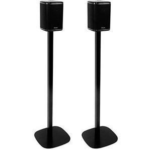 Vebos Standfuß Riva Arena schwarz EIN Paar - Hohe Qualität en optimales Klangerlebnis in jedem Zimmer - Hier können Sie Ihre Riva Arena auf jeden gewünschten Standort befestigen
