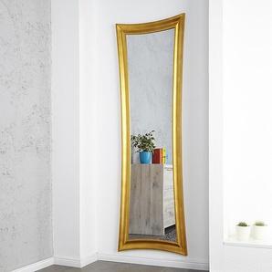 Eleganter Wandspiegel EXTRAVAGANCIA 180x60cm gold antik