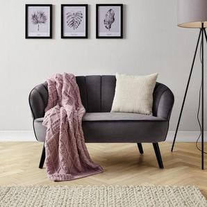 Sofa in Grau Luise