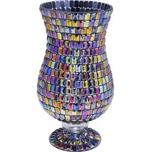 Vase Rainbow Diamonds Base 26cm