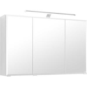 Bad Spiegelschrank mit 3D Optik LED Beleuchtung